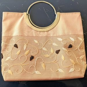 Silk Embroidered and beaded Evening Bag /2 for $20